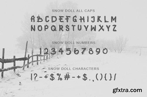 SNOWY DAY Font