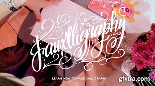 Fauxlligraphy • Faking Calligraphy 101