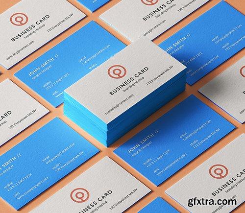 Psd Business Card Branding Mockup 7