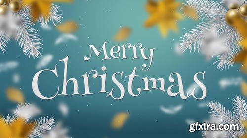 Videohive - White & Gold Christmas Slideshow - 22835869p