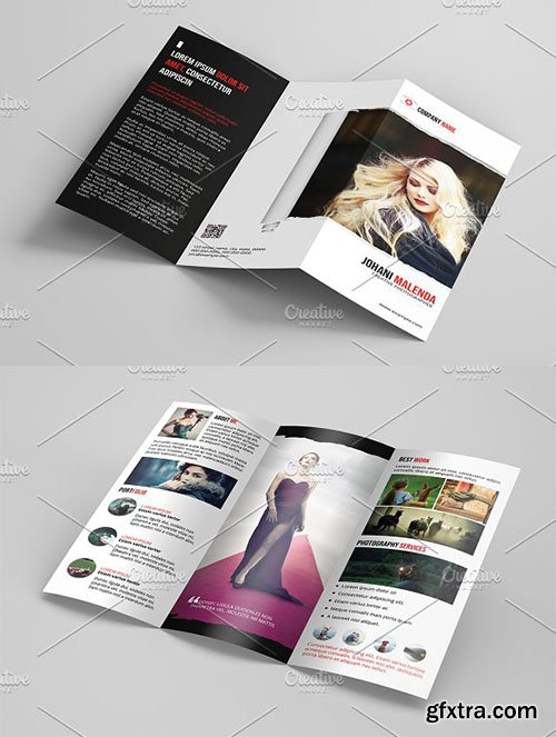CreativeMarket - Trifold Photography Brochure-V01 3154349