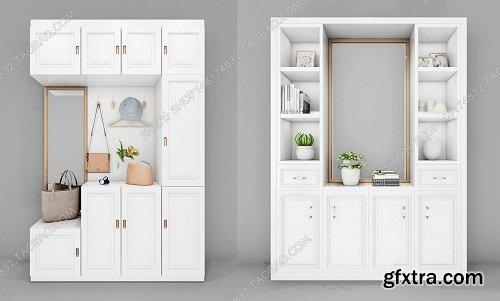 Shoes Cabinet 05 3d model