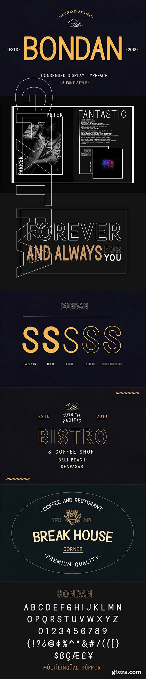 CreativeMarket - Bondan Typeface 3103631