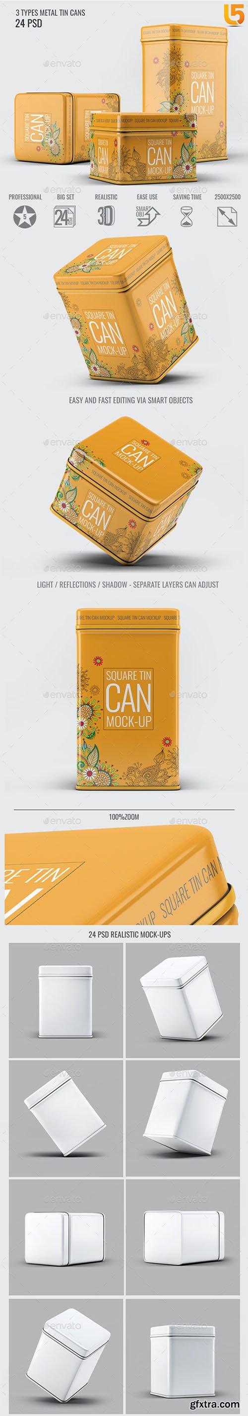 Tin Cans Mock-Up Bundle 22834347