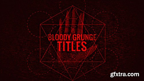 Bloody Grunge Titles - After Effects 129186