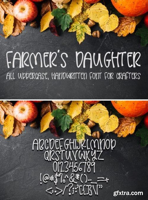 FontBundles - Farmers Daughter 162073