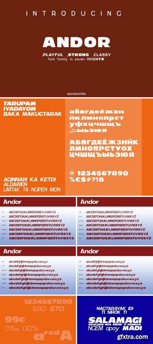 CF - Andor Family 719221