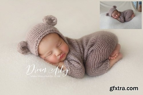 DREAM ARTSY - SOFT & PURE - Newborn Action Collection
