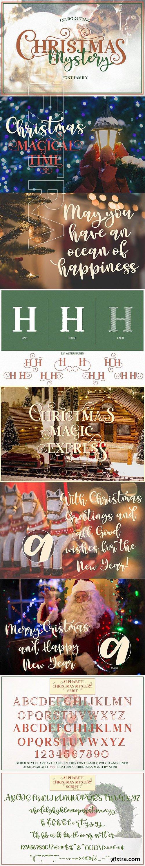 CreativeMarket - Christmas Mystery 3096360