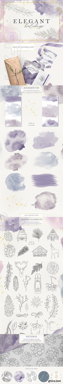 CreativeMarket - Elegant Holidays 3156007