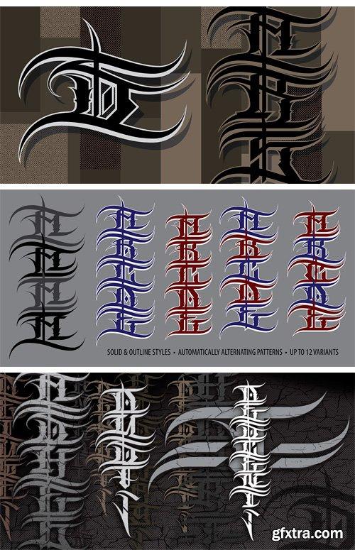 Descent Font Family