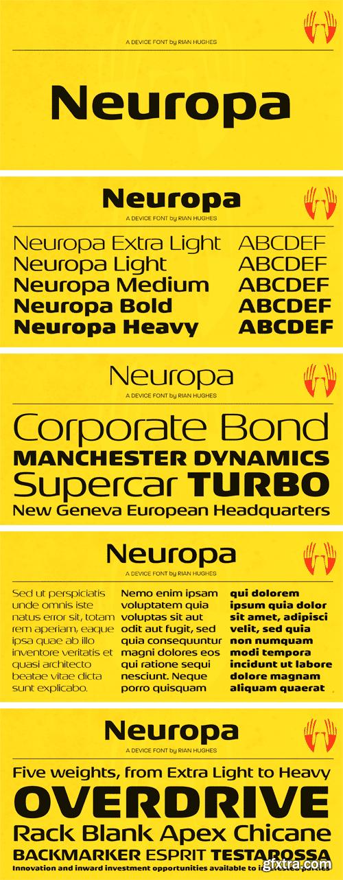 Neuropa Font Family