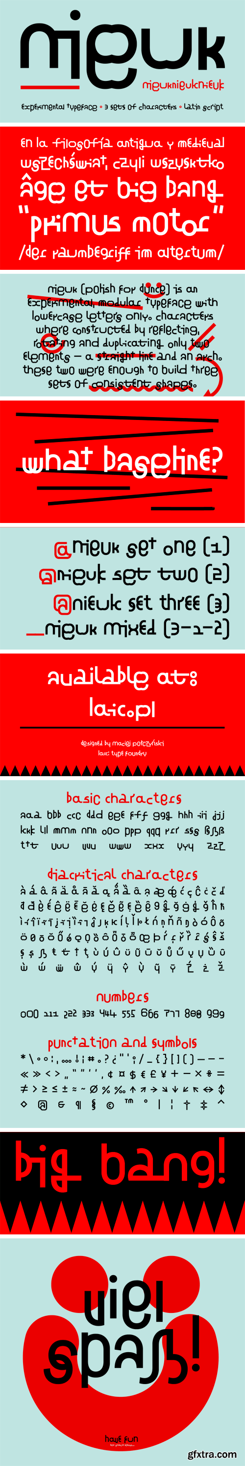 Nieuk Font