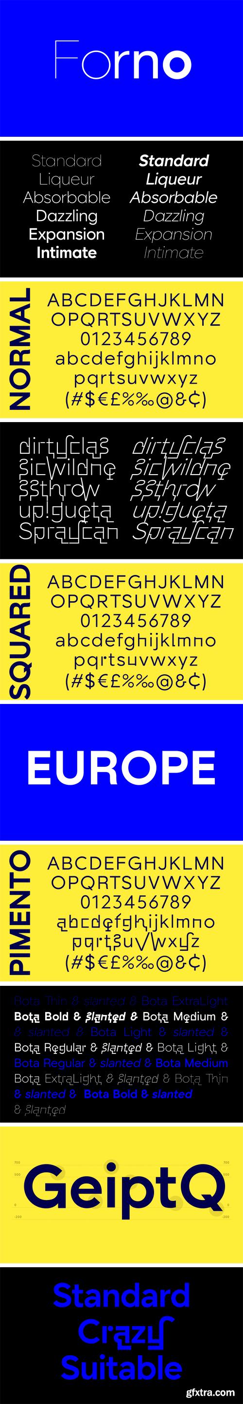 Forno Font Family