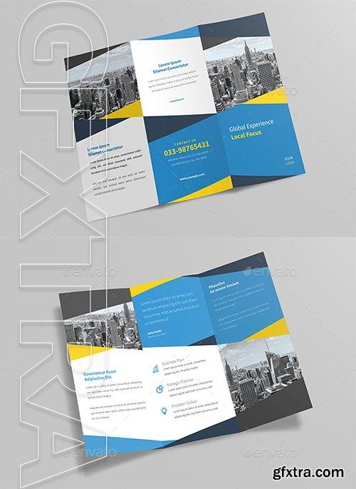 GraphicRiver - Corporate Trifold Brochure 22729452