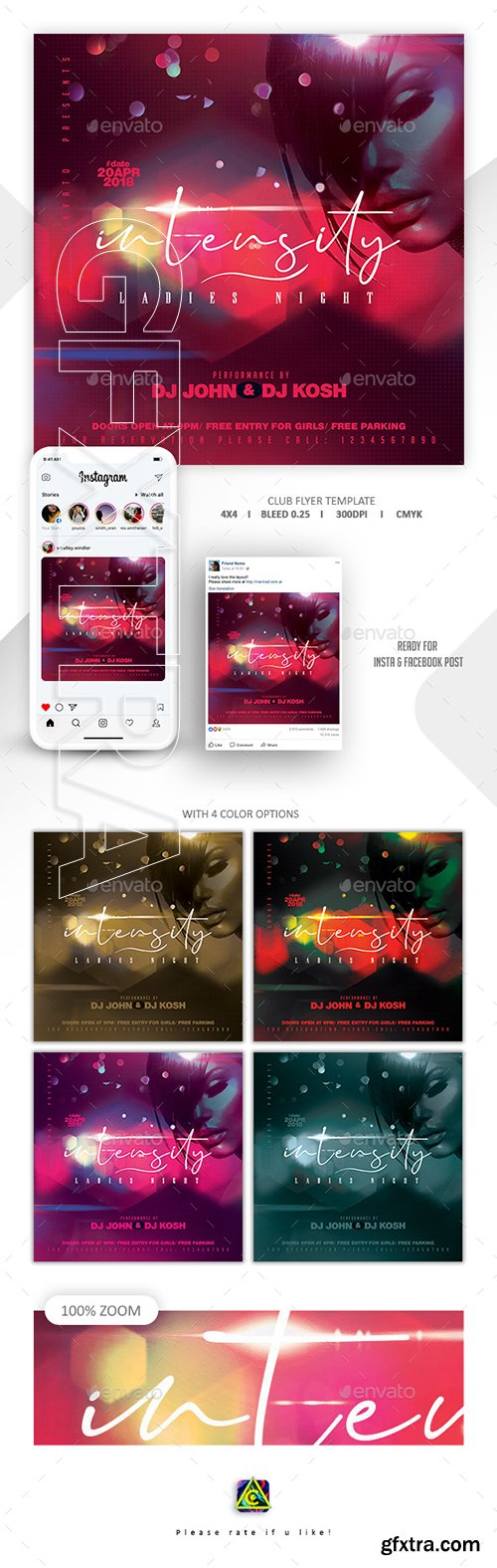 GraphicRiver - Night Club Flyer Template 22754458