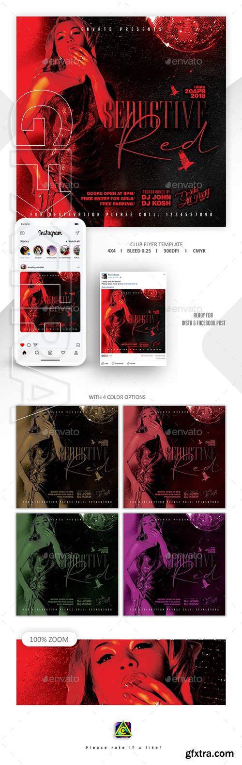 GraphicRiver - Seductive Red Flyer Template 22759119
