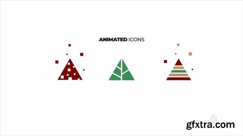 Videohive Christmas Cards 22842444