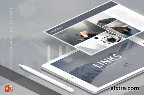 Links - Powerpoint Keynote and Google Slides Templates