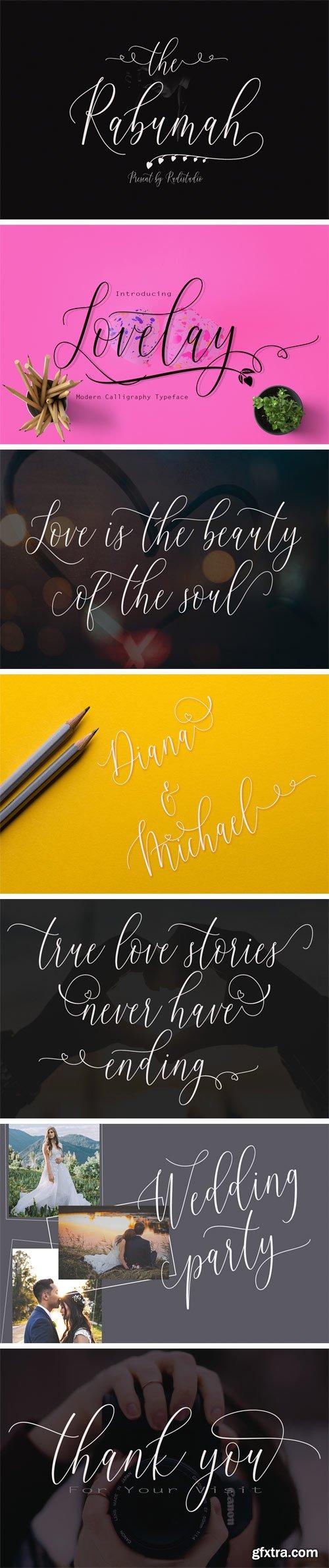 Fontbundles - Lovelay Font 166863