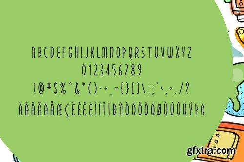 Fontbundles Bonzer Dreamer Font