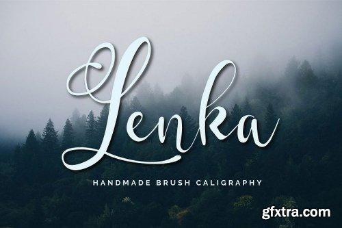 Fontbundles Lenka Brush Caligraphy