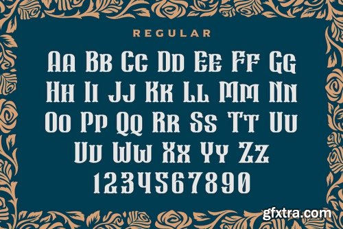 CreativeMarket Wall Axe Font 3128933