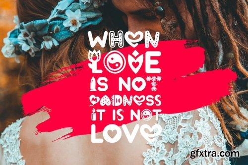 CreativeMarket Lovely Valentine 3172746