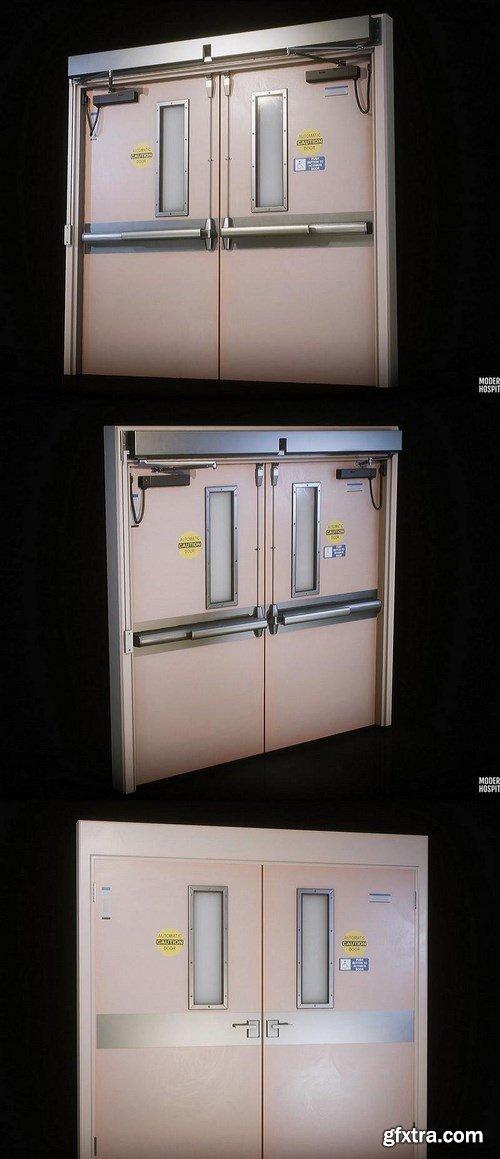 Hospital Door – 3D Model