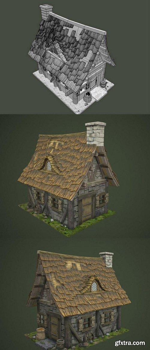 Old House – 3D Model
