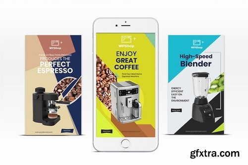 10 Instagram Stories-Products Vol 04