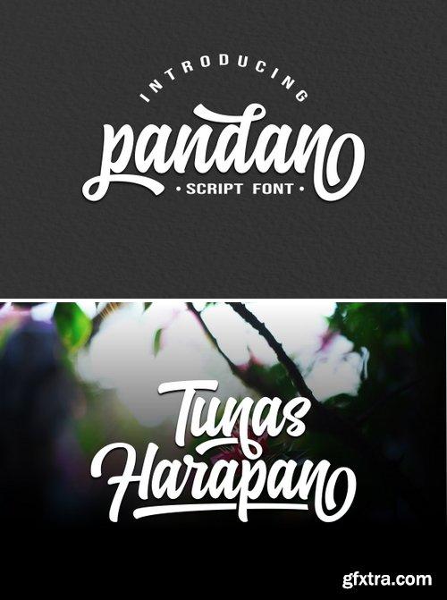 Pandan Font