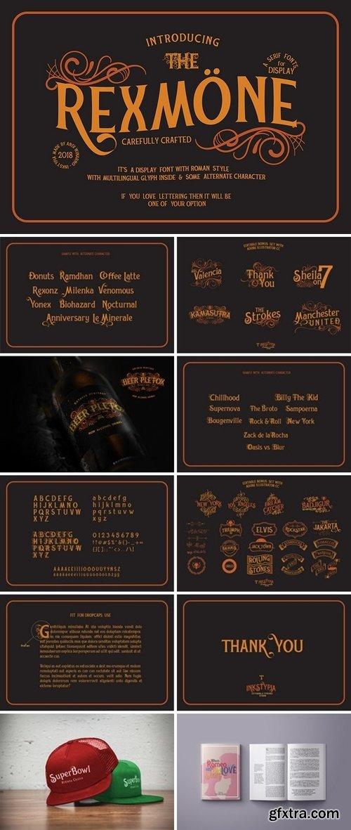 FontBundles - Rexmone 167482
