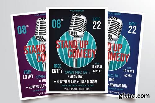 Stand Up Comedy Vol.2 Flyer Template