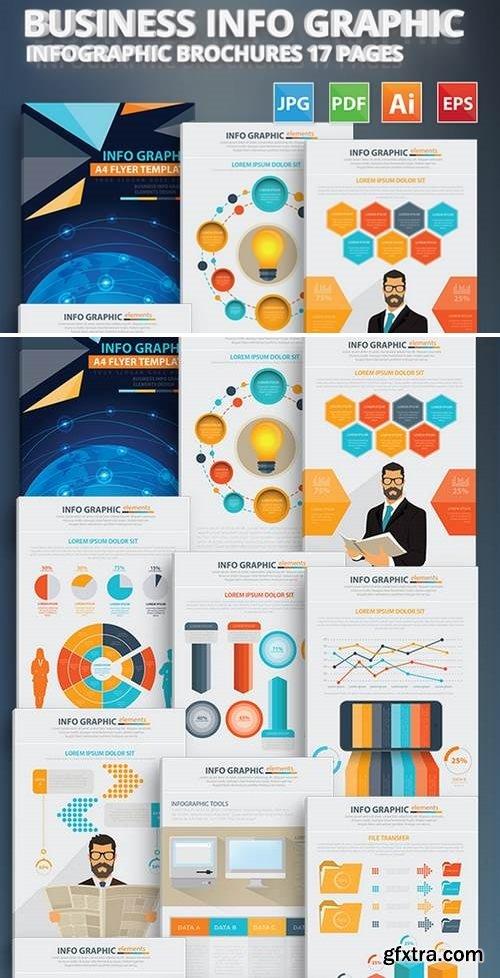 Business Info Graphic Elements Design