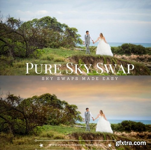 Pure Sky Swap - 93 Skies + Actions