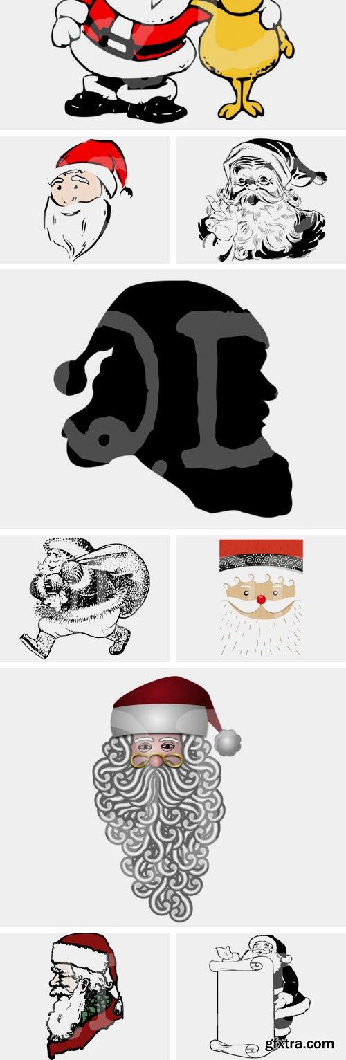 Santa Claus Graphic Bundle