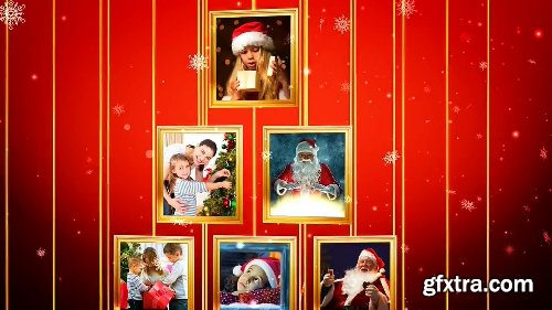 Videohive Christmas Tree Photos Opener 19072882