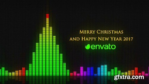 Videohive Audio Meter Christmas Wishes 19031292