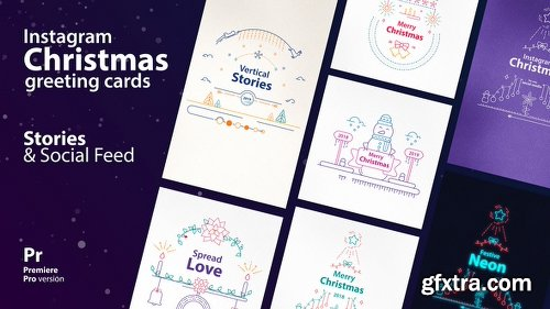 Videohive Instagram Christmas Stories 22867784