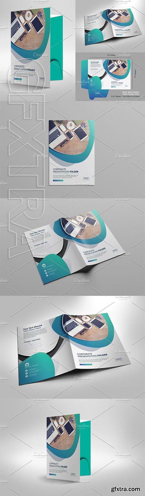 CreativeMarket - Presentation Folder 2981068