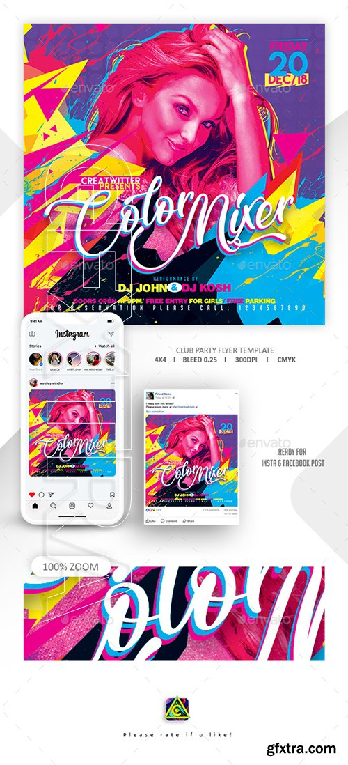 GraphicRiver - Club Party Flyer 22794418