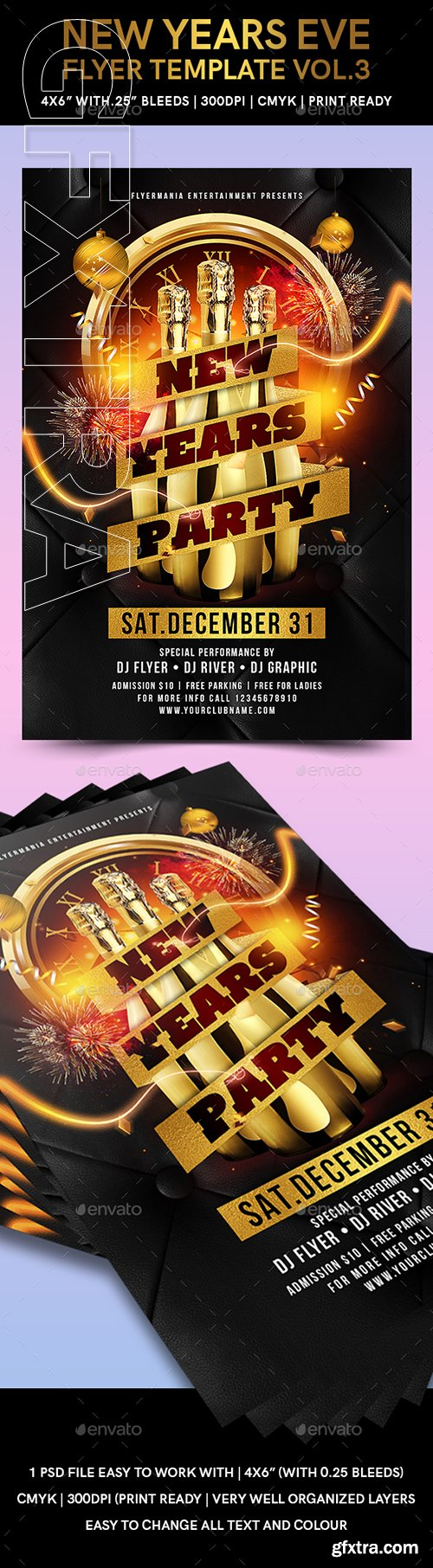 GraphicRiver - New Years Eve Flyer Template Vol 3 22817997