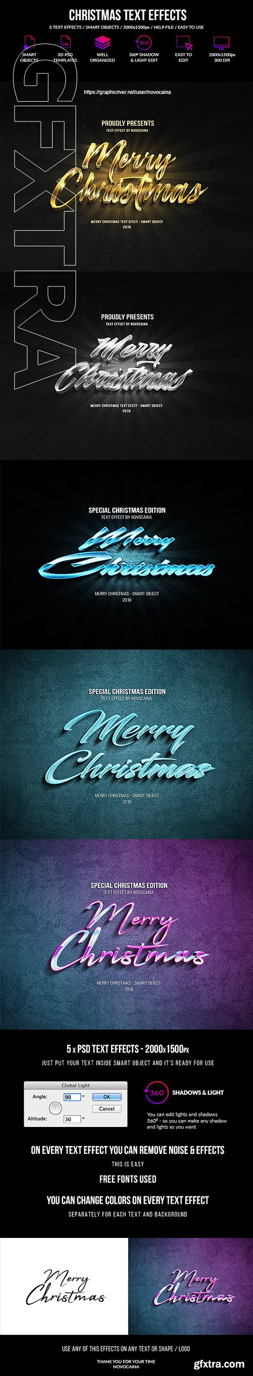 GraphicRiver - Christmas Text Effects 22809260