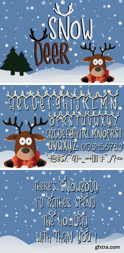 Snow Deer Font