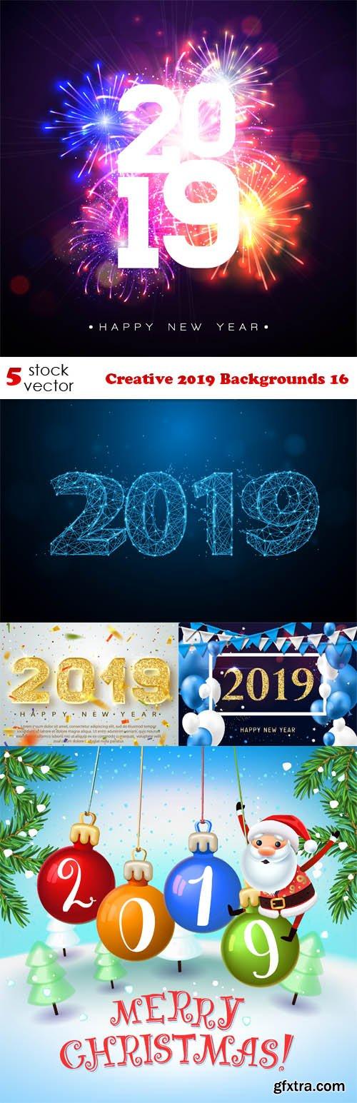 Vectors - Creative 2019 Backgrounds 16