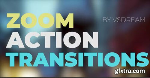 Zoom Action Transitions - Premiere Pro Templates 143110
