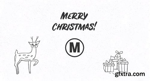 Hand Drawn Christmas Wishes - Premiere Pro Templates 142295