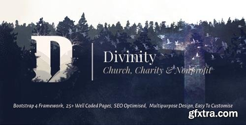 ThemeForest - Divinity - Church, Non Profit and Charity Events Bootstrap 4 HTML Template (Update: 19 January 17) - 18050414
