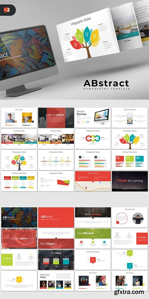 ABstract - Powerpoint Template